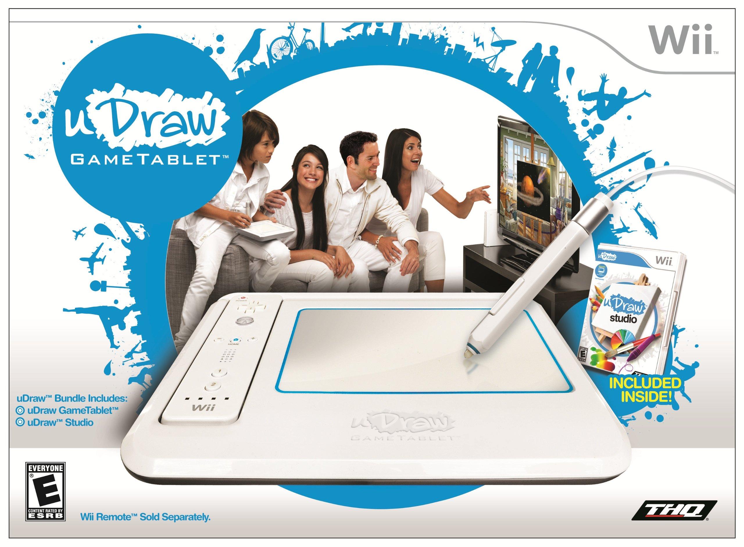 uDraw GameTablet with uDraw Studio - Nintendo Wii