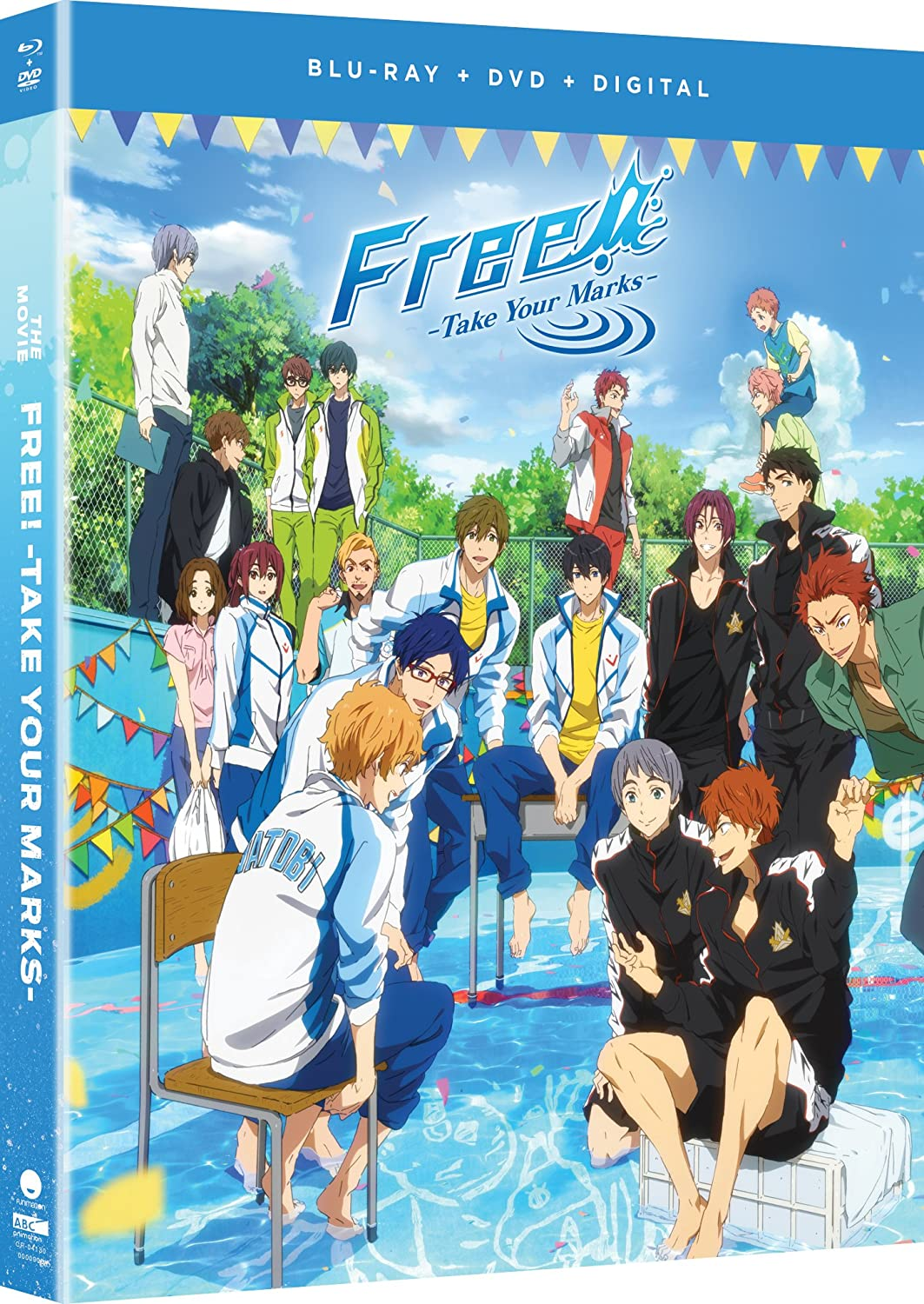 Free! Take Your Marks the Movie Blu-ray/DVD (Dual Audio)