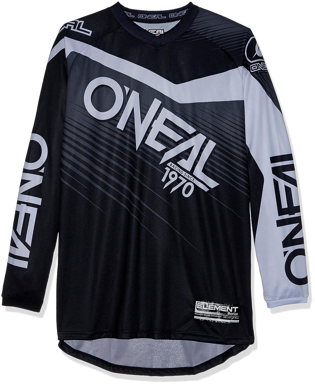Oneal Element Racewear Negro 2018 Maillot Manga Larga Hombre