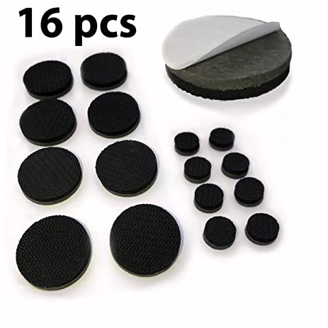 NON SLIP Furniture Pads   Self Adhesive 16 Round Pieces   Qty 8 Of 1u0026quot;