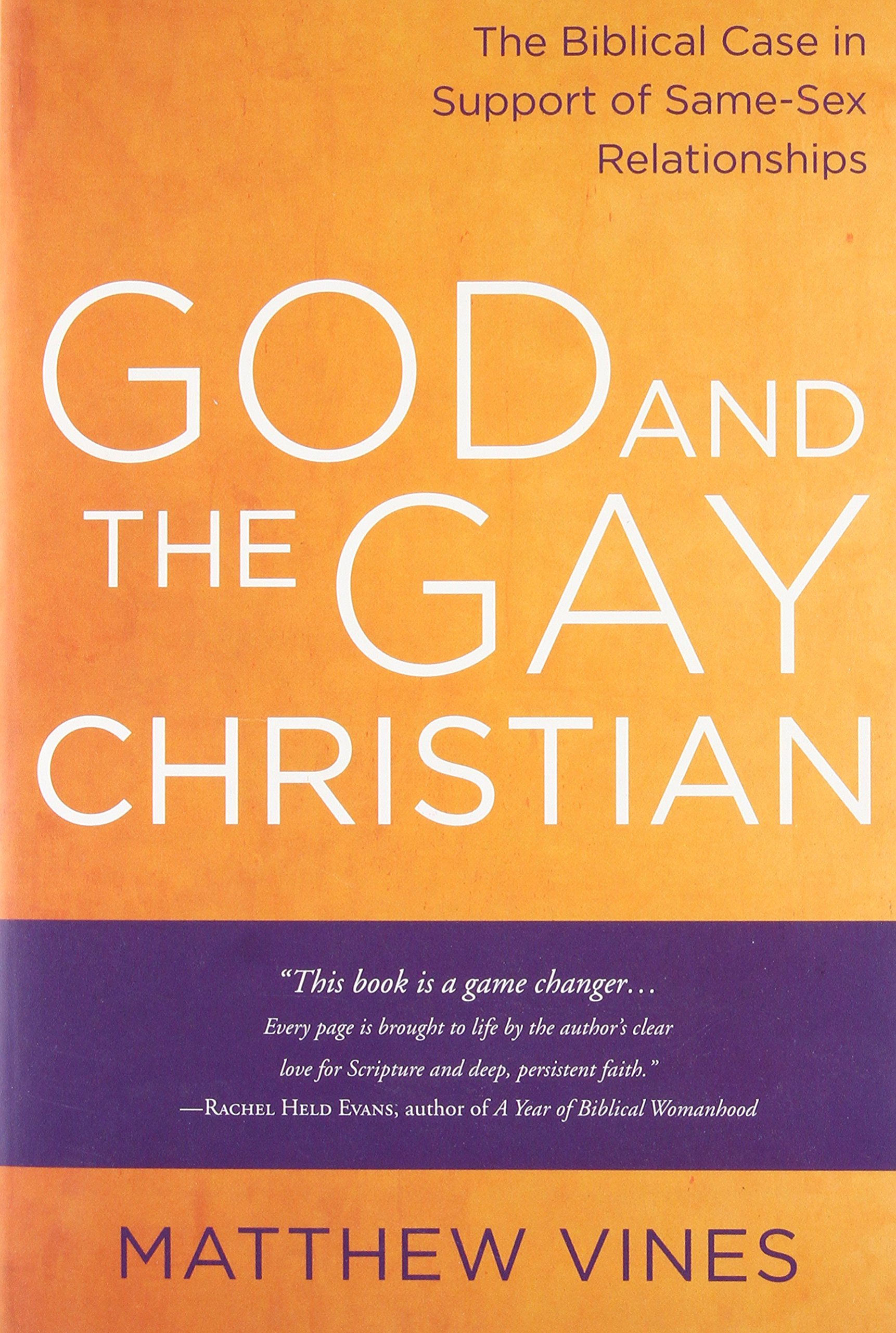 And Christian Gay About Being Books