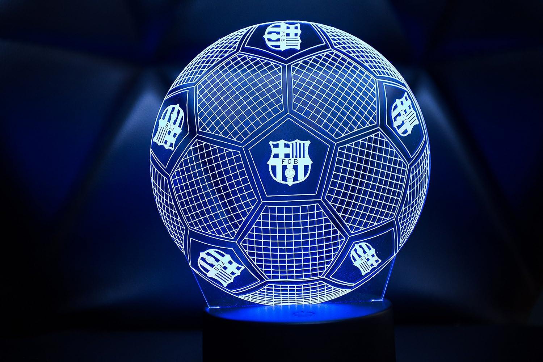 3D LAMPARAS Oficial Balon del FC Barcelona Lámpara 2019-2020 ...
