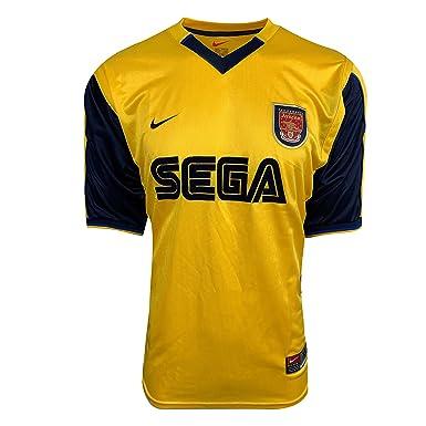 low cost b6ca4 a8baf Amazon.com: Arsenal Classic and Retro Jersey SEGA Logo ...