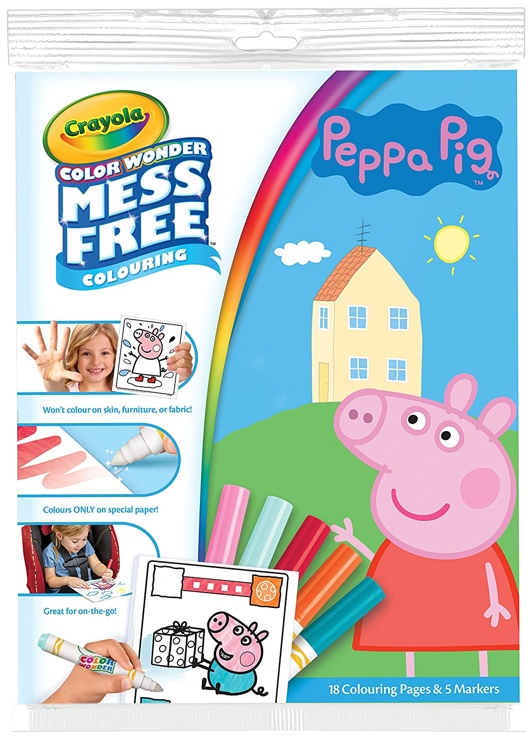 Crayola 75-2295.0054 Peppa Pig Color Wonder Special Pack: Amazon.co ...