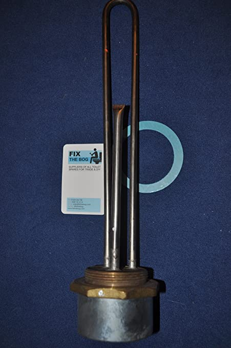 TITANIUM - Calentador de inmersión (35,6 cm, zonas de agua muy dura