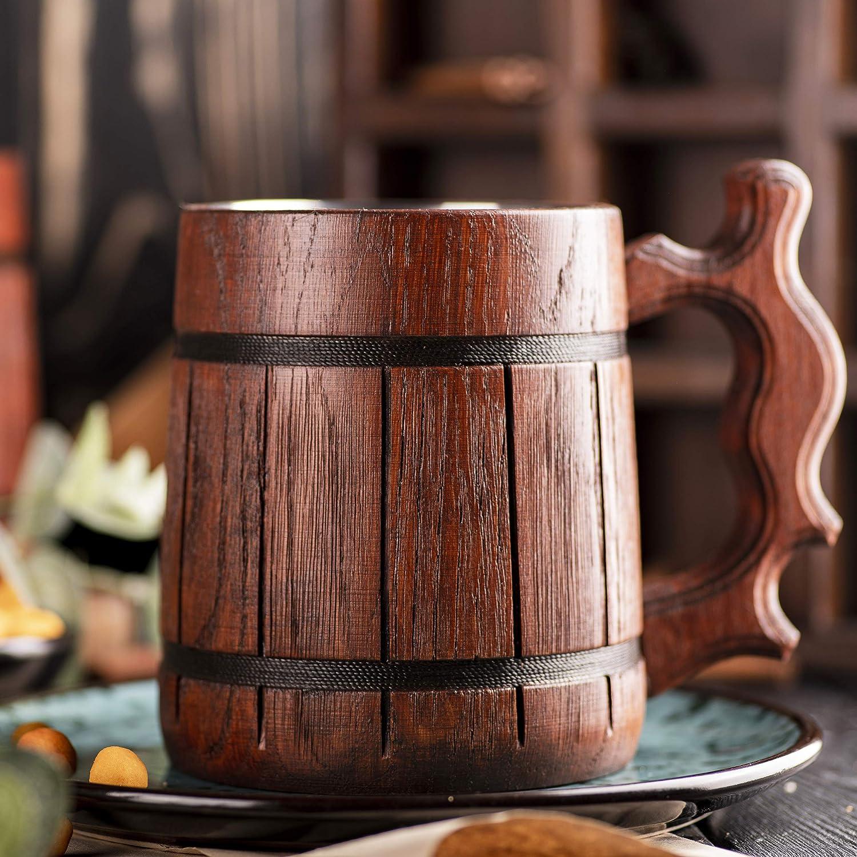 Wood Beer Mug Gamer Gift Beer Tankard K236 //0.6L // 22 ounces Dungeon and Dragons Mug D/&D Gift Wooden Beer Mug Dungeon Master Stein Dungeon Master Beer Mug Best Gift D20 Wooden Beer Stein