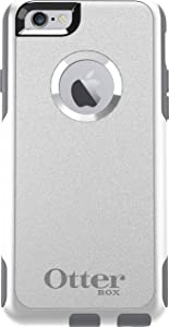 OtterBox Commuter Series Case for iPhone 6S and iPhone 6 (NOT Plus) - Non-Retail Packaging - Gunmetal Grey/White