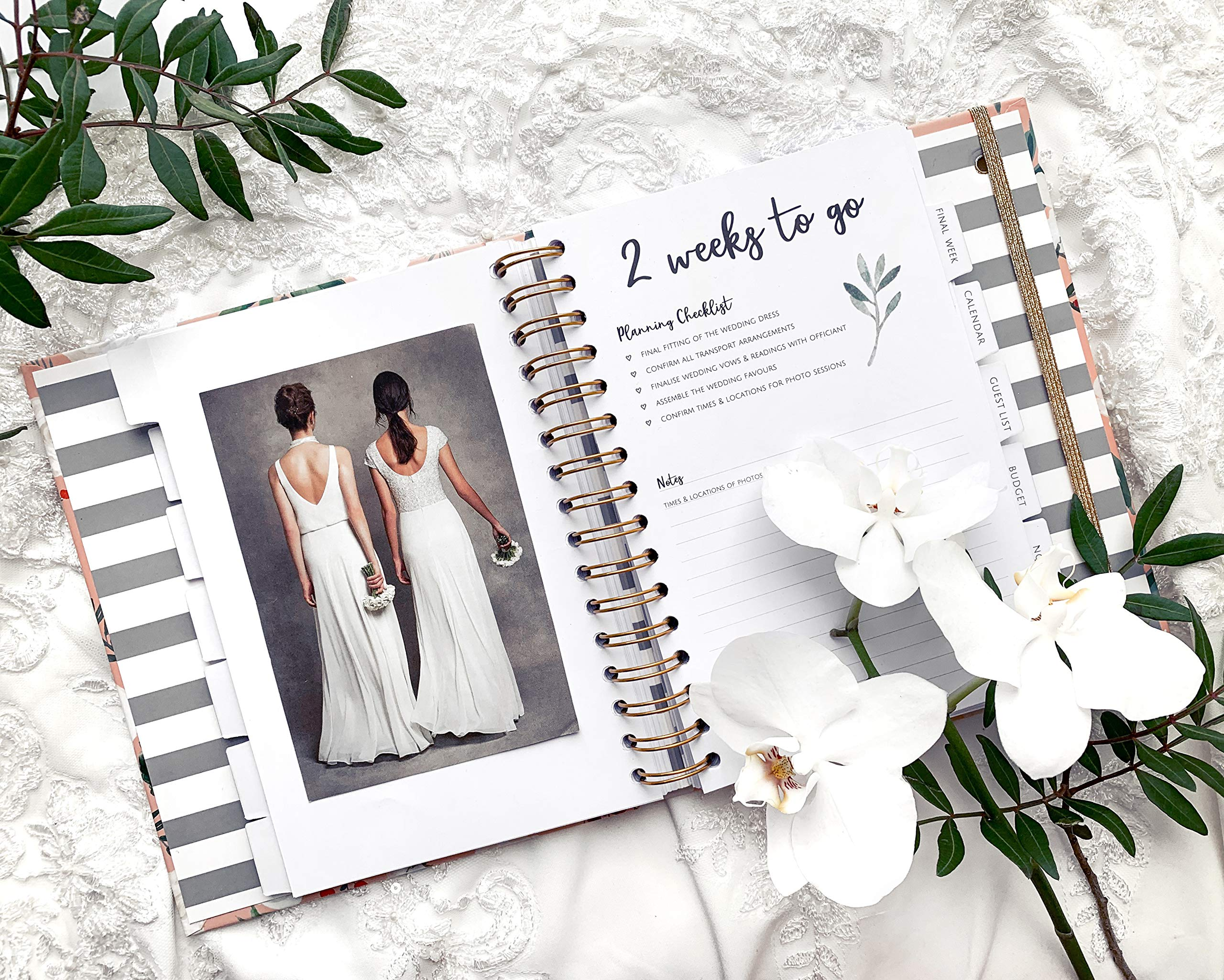 The Dream Wedding Planner | Luxury Wedding Organizer Book with Beautiful Souvenir Gift Box | Ideal Engagement Present for Couples | Perfect for Planning Your Dream Wedding by The Caledonia Design Co. (Image #3)