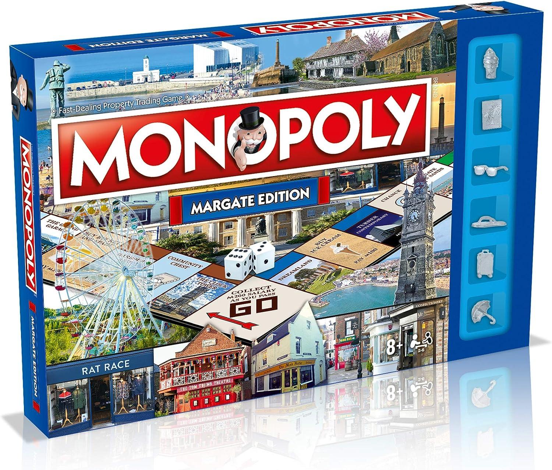 Winning Moves Juegos de Mesa Regional Monopoly (Idioma español no garantizado): Amazon.es: Juguetes y juegos