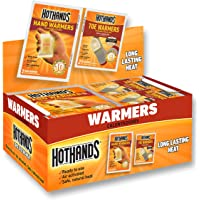 HotHands Hand & Toe Warmers - Long Lasting Safe Natural Odorless Air Activated Warmers - 24 Pair OF Hand Warmers & 8 Pair Of Toe Warmers