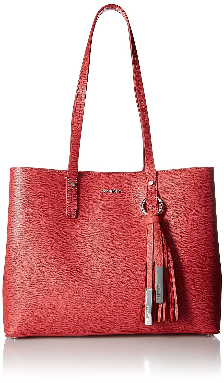 Calvin Klein レディース Calvin Klein Maggie Mercury Leather East/West Tote B079TW48MS ローズクォーツ One Size