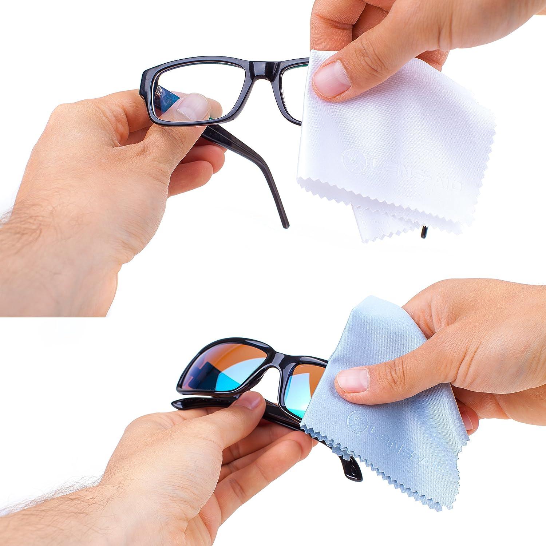 display notebook Set di 5 panni in microfibra per la pulizia del obiettivo della fotocamera smartphone e per la pulizia approfondita degli occhiali