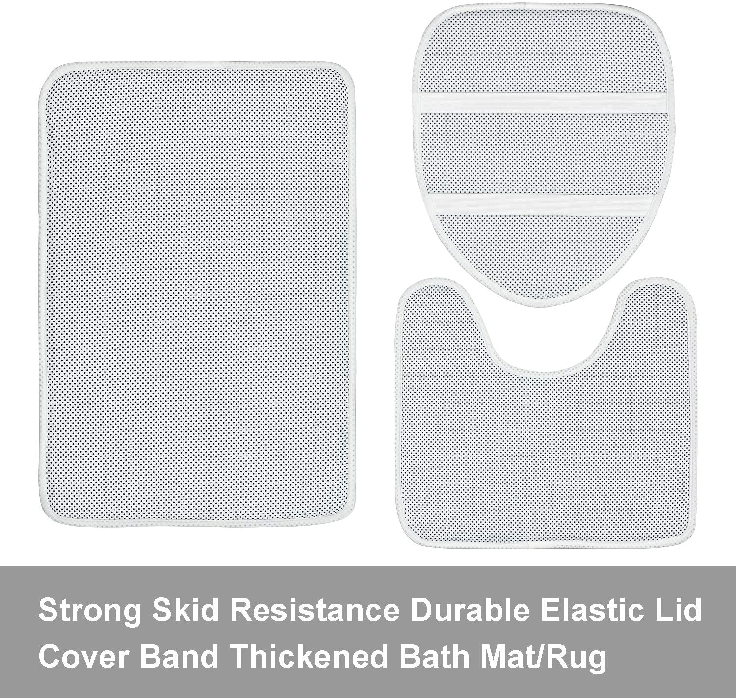 Toilet Lid Cover and Bath Mat Natural Marble Shower Curtain with 12 Hooks Durable Waterproof Shower Curtain 4 Piece Marble Texture Shower Curtain Sets with Non-Slip Rugs