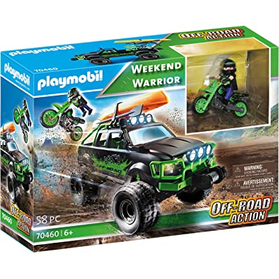 PLAYMOBIL Weekend Warrior Off-Road Action Truck: Toys & Games