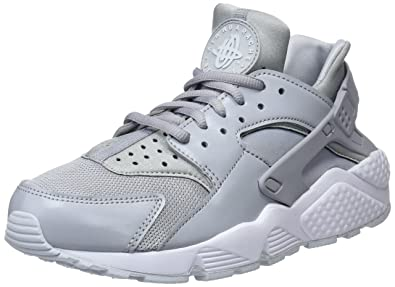 Nike Air Huarache Run, Zapatillas de Gimnasia para Mujer, Negro (Wolf Grey/Pure Platinum/White 032), 38 EU: Amazon.es: Zapatos y complementos