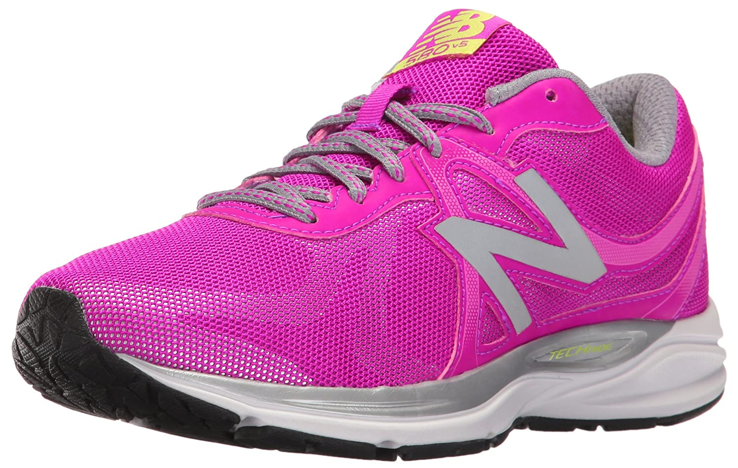 New Balance Women's W580LG5 Running Shoe B01CQV7XDC 6 D US|Pink