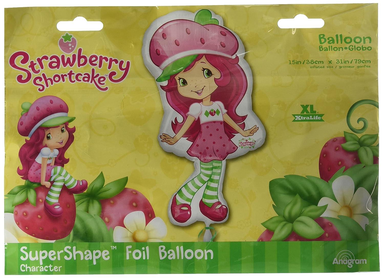 Anagram International 1933201 Strawberry Shortcake Pose Balloon Pack, 31' 31