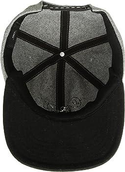 Obey Hombres Strike 6 Panel Snapback Hat Gorra de béisbol - negro ...