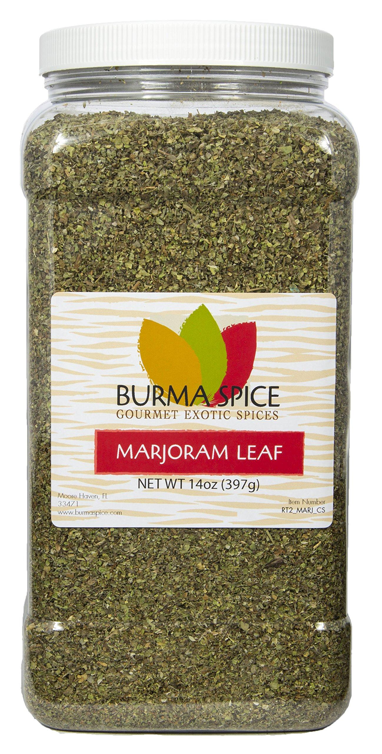 Marjoram Leaves : Dry Herb Seasoning Spice : Kosher Certified (14oz.)