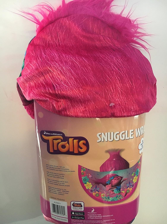Amazon.com : Dreamworks Trolls Snuggle Wrap Comfy Throw Cape : Pet Supplies