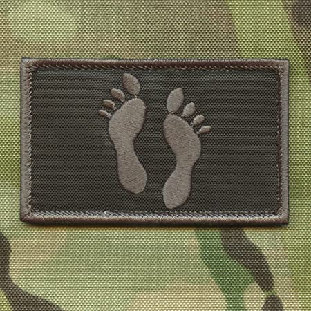 Bundle Set 2 Search Rescue Reflective Patches Plate Carrier SAR Green Feet #X