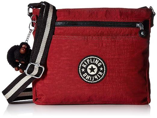5bb6ea1cde64 Amazon.com  Kipling Shelia Crossbody Bag Brick Red  Clothing