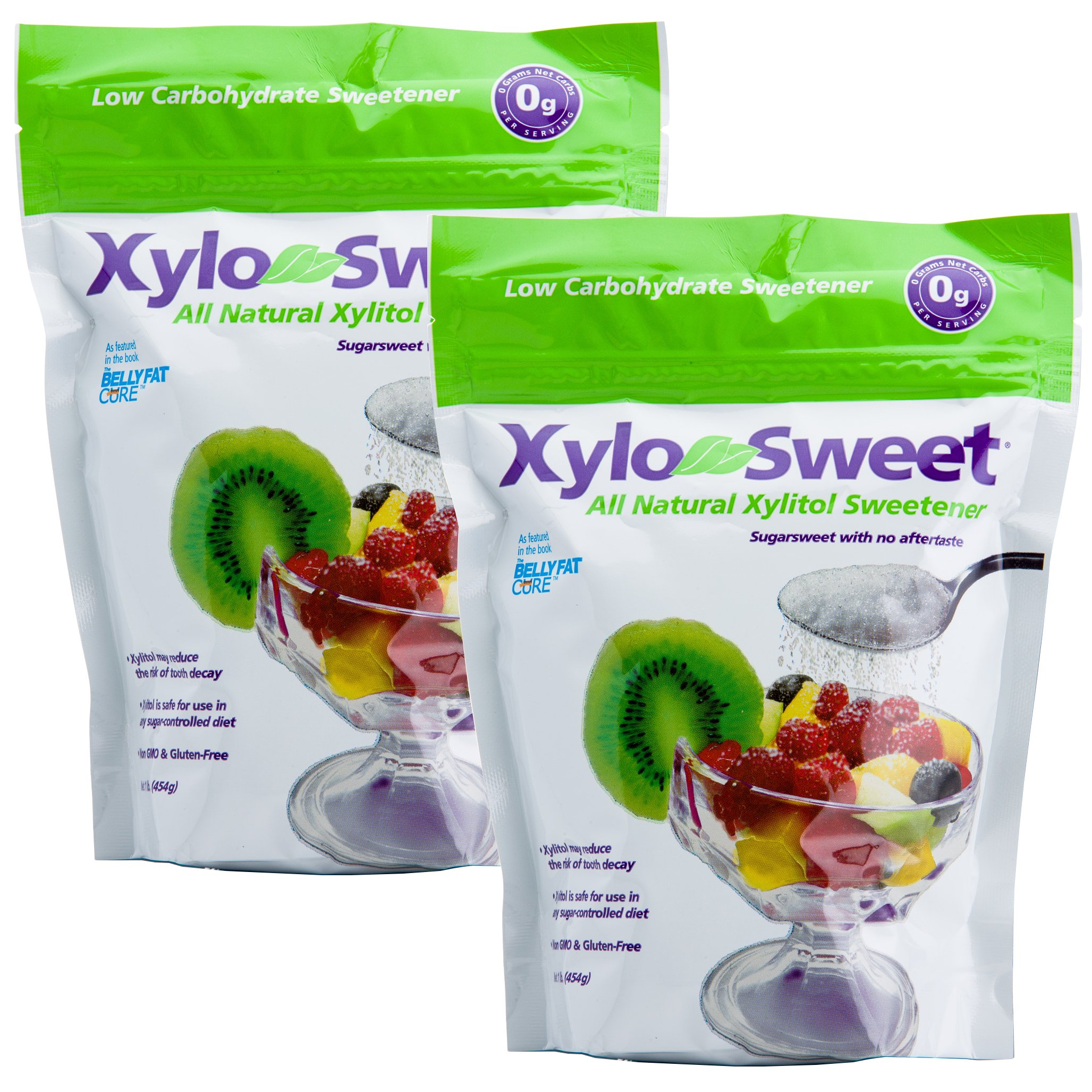 Xlear Xylitol Sweetener Bag - 16 Ounce (Pack of 2)