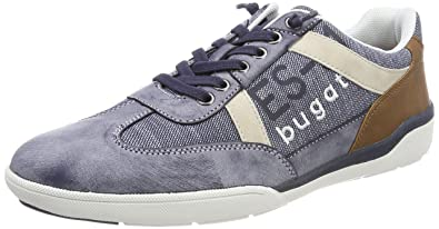 321480066900, Sneakers Basses Homme, Rouge (Red), 44 EUBugatti