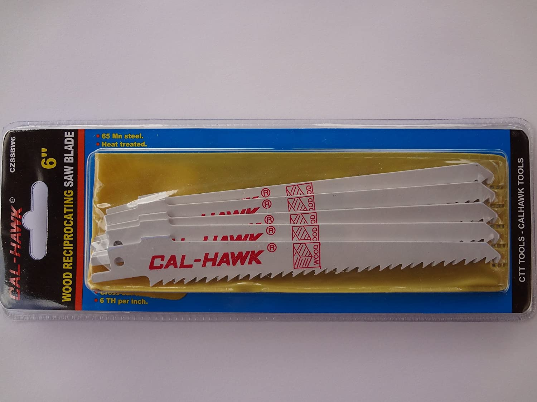 "20 CAL-HAWK 12/"" 6TPI RECIPROCATING SAW//SAWZALL BLADES"