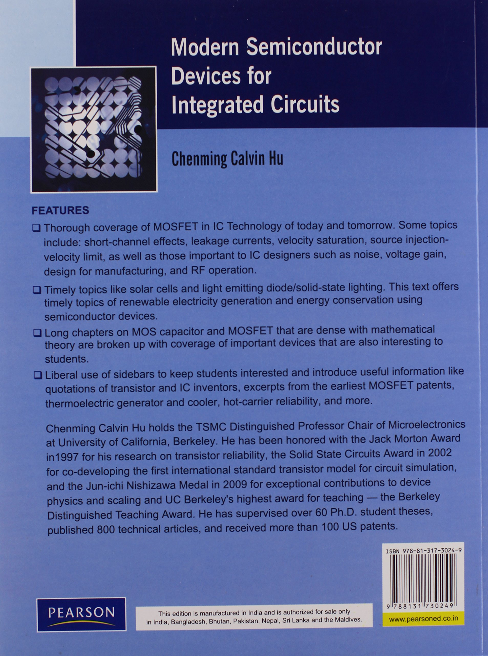 Buy Modern Semiconductor Devices For Integrated Circuits 1e Book Uses Of Online At Low Prices In India