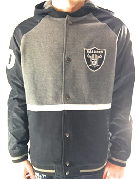 Fanatics NFL Oakland Raiders Varsity Chaqueta con Capucha ...