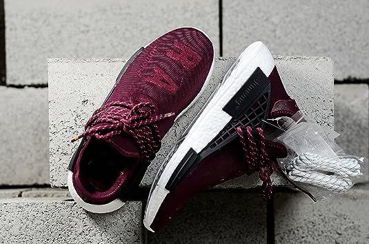 b5f04c166 Popular Luxury Design UA Burgundy Human Race Great Value Fashion Sneaker US7 .5 Men  Amazon.co.uk  Shoes   Bags