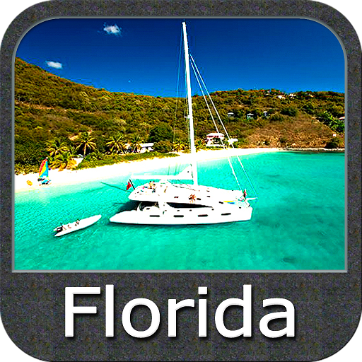 Marine florida chart gps track amazon appstore for Navionics fishing app