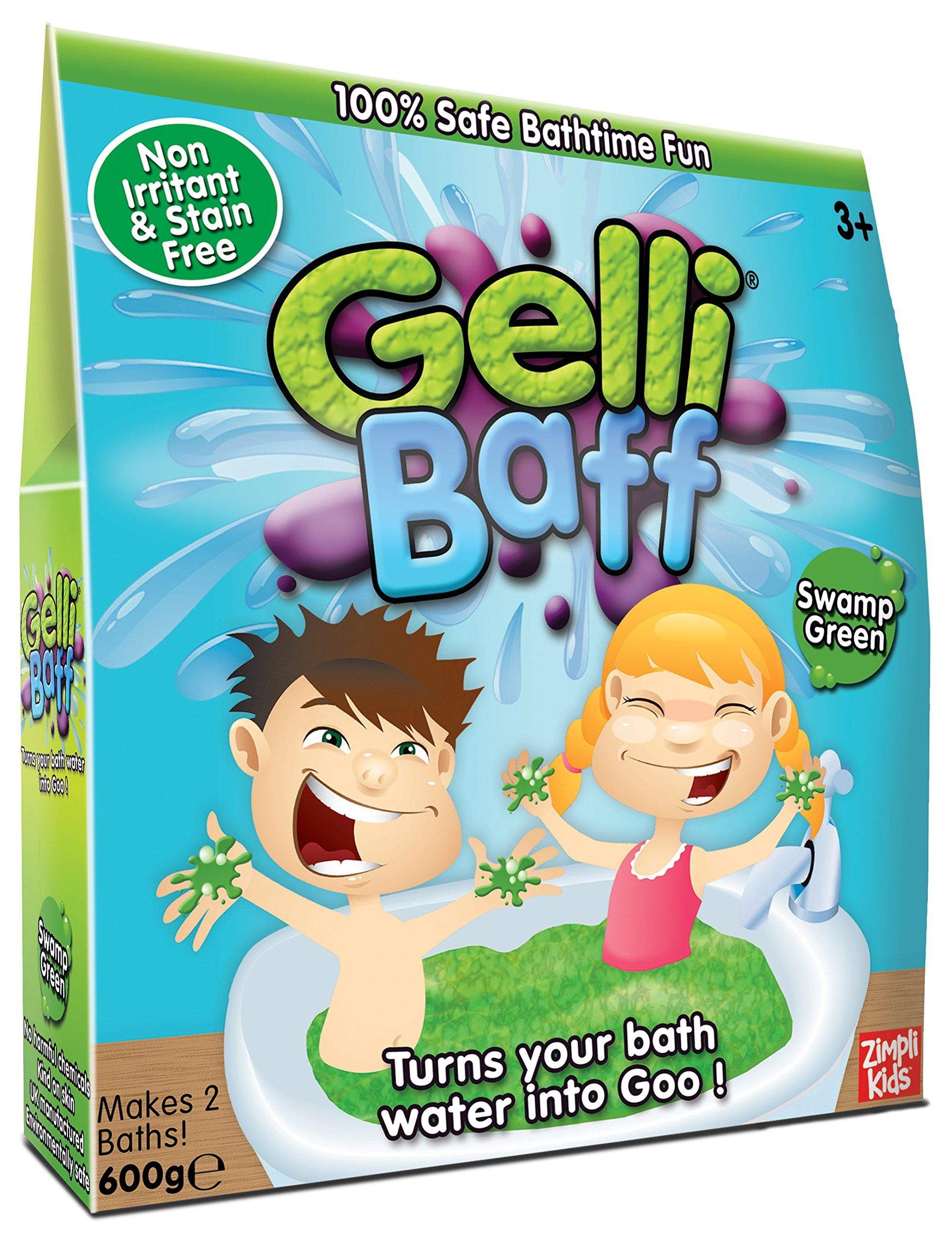 Zimpli Kids Green Gel Bath Gelli Baff 2-Use 600G Box