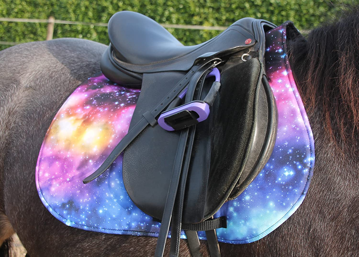 Full Vielseitigkeit Galaxy Saddle Cloth