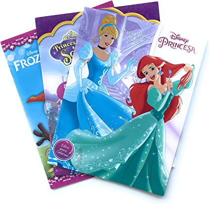 Princesas Disney Princesa Sofia Y Frozen Cuaderno Para Colorear