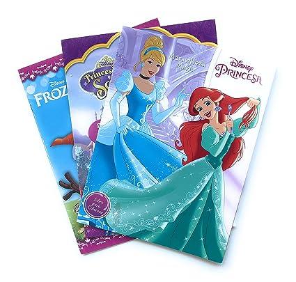 Princesas Disney Princesa Sofia Y Frozen Cuaderno Para Colorear Kit 3 En 1 Libros Para Colorear De 16 Páginas Incluye Todas Las Princesas Ariel