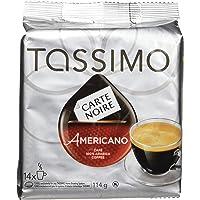 Tassimo Carte Noire Americano Coffee, Single Serve T-Discs, 14 T-Discs, 114G