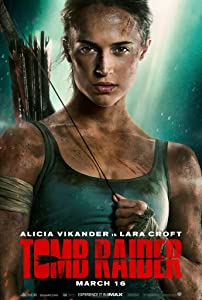 Tomb Raider Movie Poster Limited Print Photo Alicia Vikander Lara Croft Size 16x20 #1