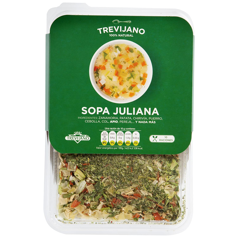 Trevijano - Sopa Juliana Deshidratada, 100 g: Amazon.es ...