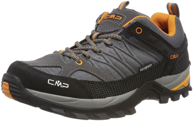 gris (gris-aperol 60ak) CMP Rigel Low, Chaussures de Randonnée Basses Homme 45 EU