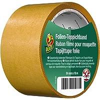 Duck folie tapijttape - dubbelzijdig plakband voor permanent verlijmen van tapijt 50mmx10m