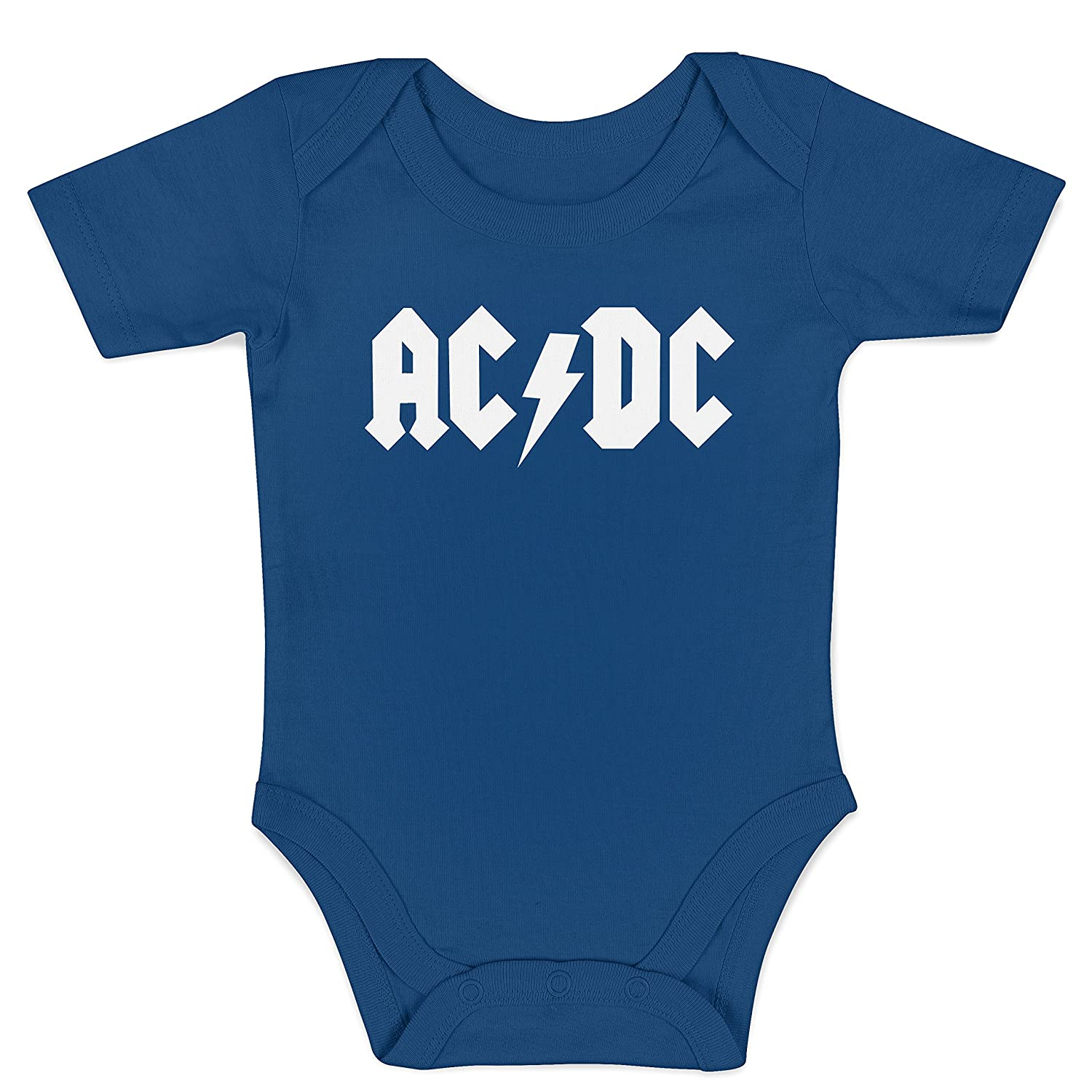 LaMAGLIERIA Body Bebè ACDC - Rock n' Roll Baby Body BBODY-000006