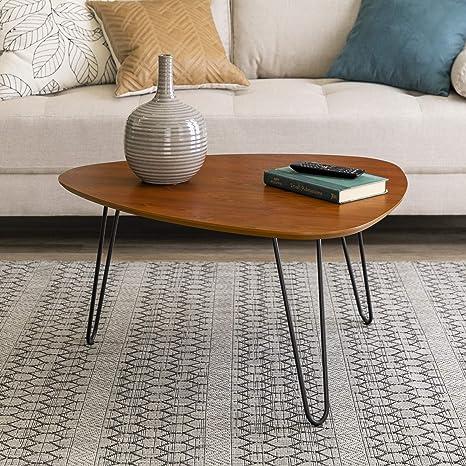 We Furniture 81cm 32 Mid Century Modern Hairpin Leg Side