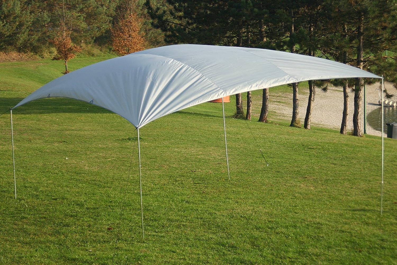 MONTIS SONNENSEGEL Tarps Strandsegel Sonnenschutz wasserabweisend viele Dimensionen rechteckig Weiss