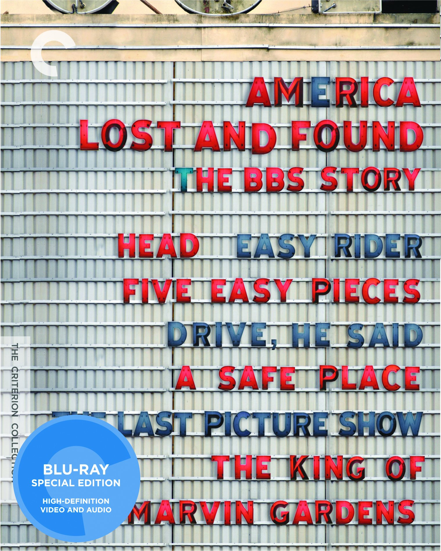America Lost and Found: The BBS Story (Head / Easy Rider / Five Easy Pieces / Drive, He Said / The Last Picture Show / The King of Marvin Gardens / A Safe Place) (The Criterion Collection)[Blu-ray] by Criterion