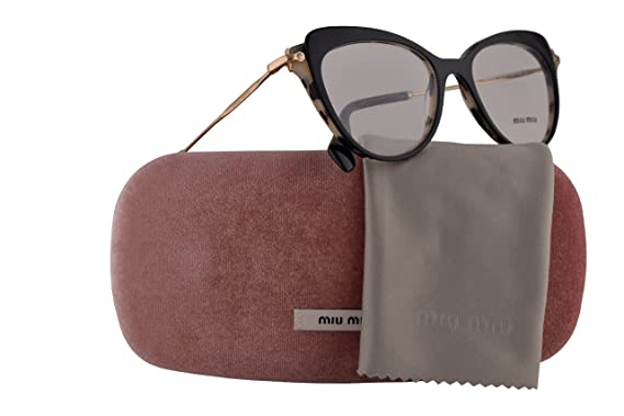 a71cf1485be3 Image Unavailable. Image not available for. Color: Miu Miu MU01QV Eyeglasses  52-17-140 ...