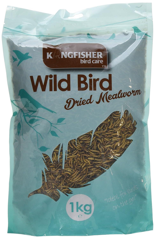 1kg Bag Mealworms Wild Bird Feed SportsCenter BFMW05