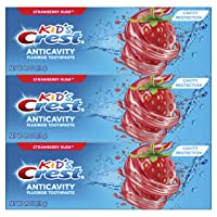 3-Pack Crest Kids Cavity Protection Fluoride Toothpaste 4.2oz Deals