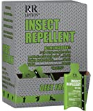 """Industrial Insect Repellent """"Deet-free"""" with active ingredient IR3535. Lotion, Odorless, Packette 50ct"""